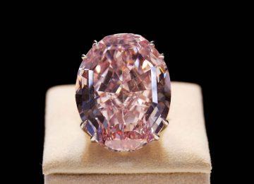 Cena różowego diamentu z Afryki